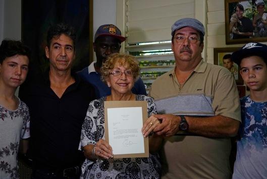 Cuba Obama's Letter